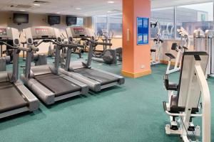 The fitness centre and/or fitness facilities at Holiday Inn Edinburgh Zoo, an IHG Hotel