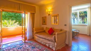 Area soggiorno di Hotel Villa Ottone