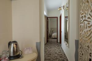 A bathroom at Casa Siqua