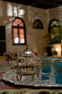 A restaurant or other place to eat at Riad Yacout