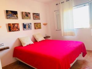 Un ou plusieurs lits dans un hébergement de l'établissement Villas2meet