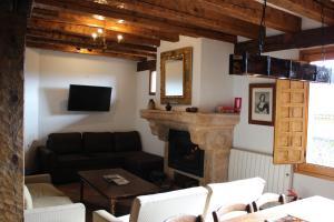 A seating area at Santamaría - Mirador de Pedraza