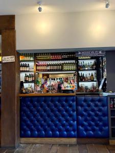 The lounge or bar area at The Bull Inn