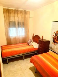 Cama o camas de una habitación en Apartment Svetlana