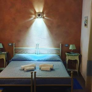 Letto o letti in una camera di Villamereu