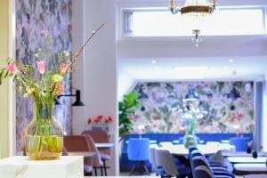 Restaurant ou autre lieu de restauration dans l'établissement Hotel Asterisk 3 star superior