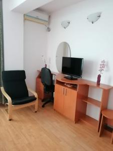Un televizor și/sau centru de divertisment la Villa Edera Residence - Gazda Profesionista