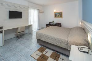 Cama ou camas em um quarto em Hotel D'sintra