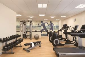 The fitness center and/or fitness facilities at Hyatt House Virginia Beach / Oceanfront