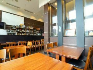 The lounge or bar area at APA Hotel Tennoji-Ekimae
