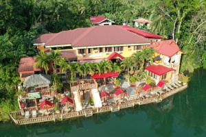A bird's-eye view of Stefanie Grace Paradise Inn