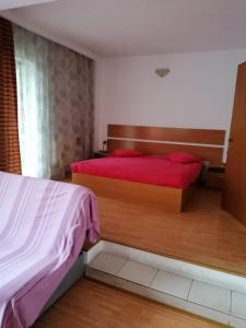Un pat sau paturi într-o cameră la Villa Edera Residence - Gazda Profesionista