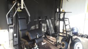 The fitness center and/or fitness facilities at Hotel Villa Maya