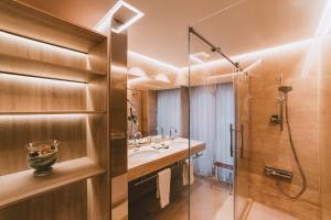 A bathroom at Preciados