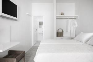 Un ou plusieurs lits dans un hébergement de l'établissement Terra Maria Hotel