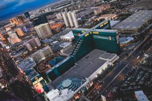 A bird's-eye view of MGM Grand