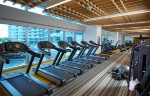 The fitness center and/or fitness facilities at Seminole Hard Rock Hotel & Casino Hollywood