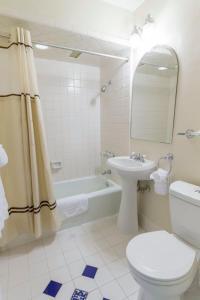 A bathroom at Coast Village Inn