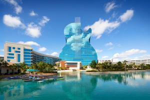 The swimming pool at or near The Guitar Hotel at Seminole Hard Rock Hotel & Casino
