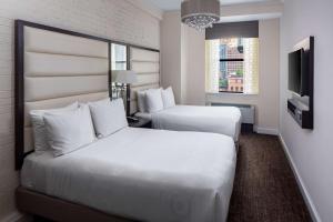 Кровать или кровати в номере Park South Hotel, part of JdV by Hyatt