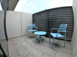 ibis budget Sydney Airport tesisinde bir balkon veya teras