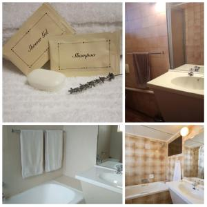 A bathroom at Park Hotel Bethlehem