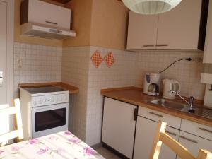 Küche/Küchenzeile in der Unterkunft Ferienhaus Jungclaus