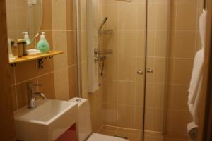 Ett badrum på Herrfallet