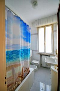 A bathroom at Residenza Parco Ducale