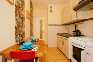 Кухня или мини-кухня в KvartiraSvobodna - Apartments at Taganka