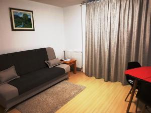 Ein Sitzbereich in der Unterkunft Apartments Sanja