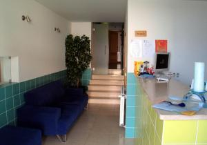 The lobby or reception area at Residencial Popular