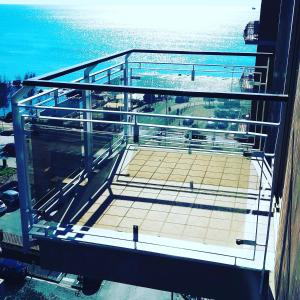 A balcony or terrace at Cielo Stellato