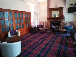 A seating area at Kintore Arms Hotel 'A Bespoke Hotel'