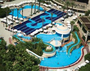 A bird's-eye view of Limak Atlantis Deluxe Hotel Belek