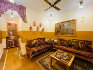 A seating area at Shanti Home