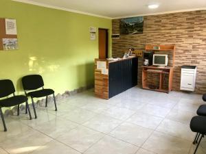 Una cocina o kitchenette en Hostel Familia de Campo