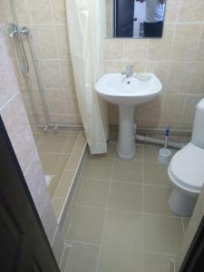 Ванная комната в Hotel Alazis Alakol