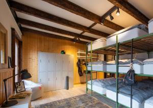 Un ou plusieurs lits superposés dans un hébergement de l'établissement Hotel de la Poste