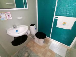 A bathroom at Posada Santa Catalina
