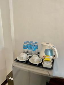 Coffee and tea making facilities at IL Mare Sakura Resort Boracay