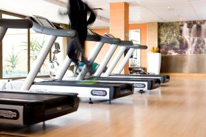 The fitness center and/or fitness facilities at Intercontinental Johannesburg Sandton Towers, an IHG Hotel