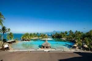 The swimming pool at or near InterContinental Tahiti Resort & Spa, an IHG Hotel