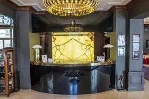 The lobby or reception area at Le Palais Art Hotel Prague