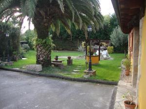 Jardín al aire libre en Posada Rumoroso