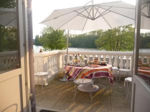 Balcon ou terrasse dans l'établissement La Grande Maison