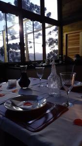 Um restaurante ou outro lugar para comer em Chale na Serra Catarinense
