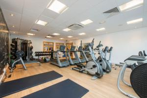 The fitness center and/or fitness facilities at Holiday Inn London-Shepperton, an IHG Hotel
