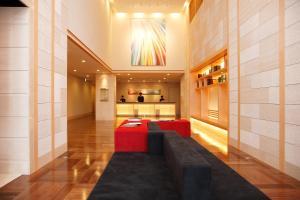 The lobby or reception area at Hotel Resol Trinity Sapporo
