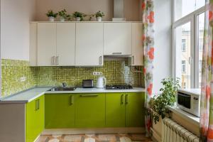 Кухня или мини-кухня в Сити-отель
